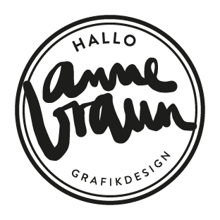 Anne braun Grafikdesign Logo